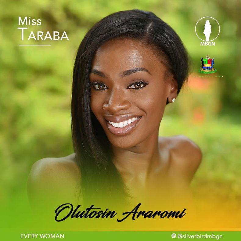 Miss Taraba MBGN 2019 Oluwatosin Araromi