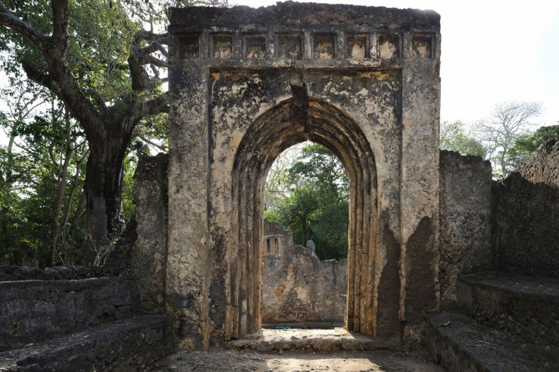 anicient african ruins gedi ruins