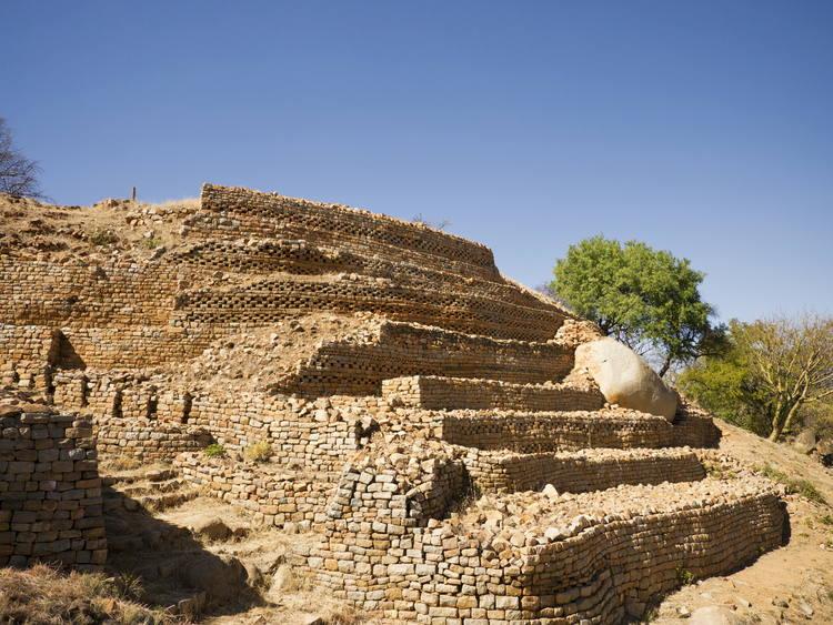 ancient african ruins khami ruins