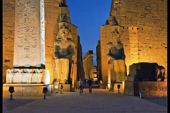ancient african ruins luxor temple