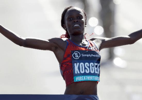 Kenya's Brigid Kosgei breaks Paula Radcliffe's 16-year record to win the 2019 Chicago Marathon
