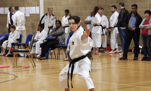 Alexandra Merisoiu Shotokan Shield Open Karate Championships