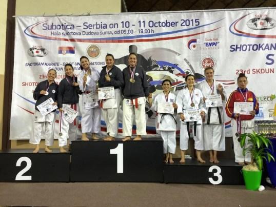October 10-11 2015 SKDUN 23rd Shotokan Karate World Championship