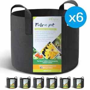 6 10-gallon grow bags for $16.59