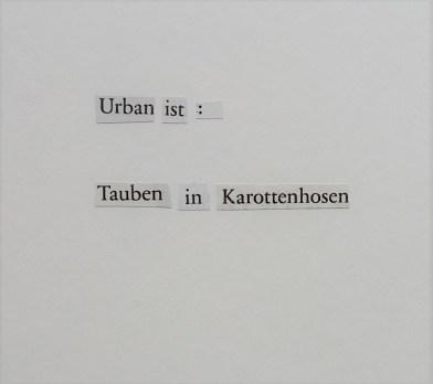 Urbane Tauben