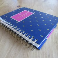 Emily Ley Simplified Planner, Navy with Gold Pineapples