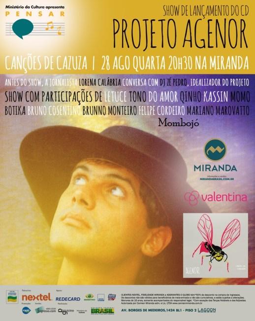 Convite Agenor Miranda