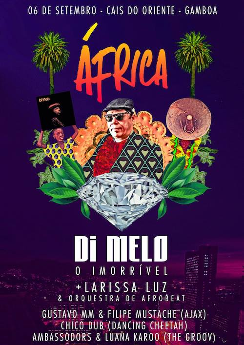AfricaDi Melo O ImorrivelOrquestra de Afrobeat