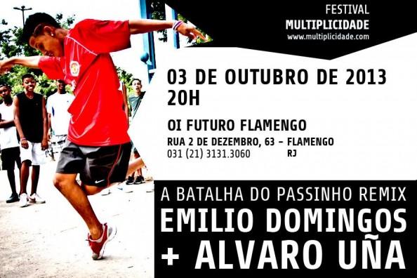 Festival Multiplicidade - Passinho flyer