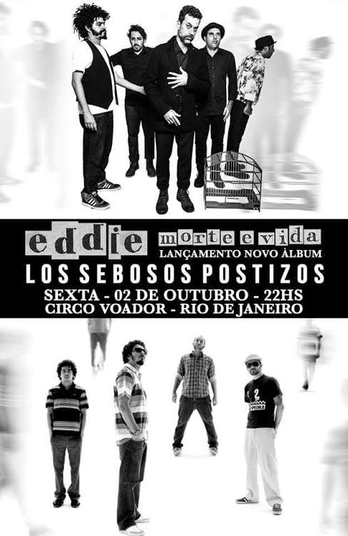 Los Sebosos Postizos e Eddie 2015