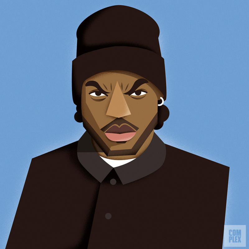 rappers Ice Cube URBe