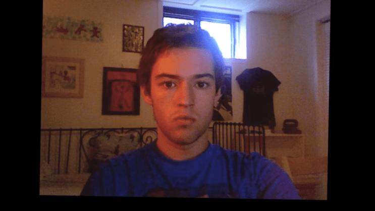 Hugo selfies URBe