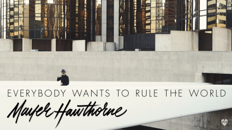 Mayer Hawthorne Everybody Wants to Rule the World URBe