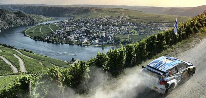 Campeonato Mundial de Rally en Alemania: Exigencia de manejo suprema