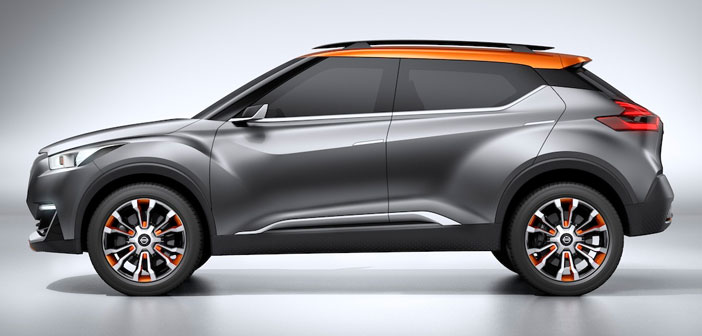 Nissan Kicks vehículo oficial de los Juegos Olímpicos Río 2016