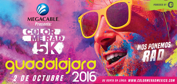 Color Me Rad llenará de color Guadalajara 2016
