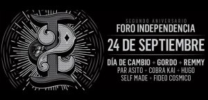 2do Aniversario Foro Independencia