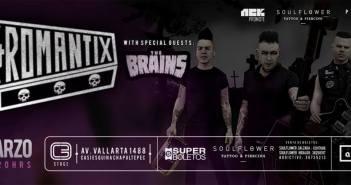Nekromantix y The Brains en Guadalajara