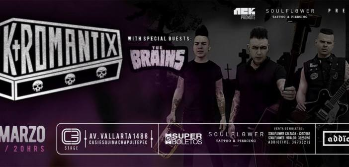 Nekromantix y The Brains en Guadalajara