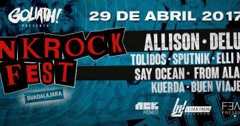 Punk Rock Fest Guadalajara 2017