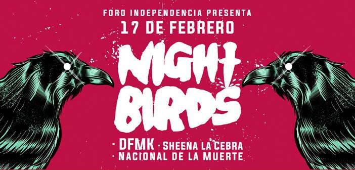 Night Birds en Guadalajara 2017