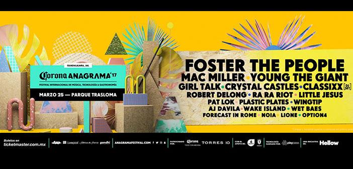 Anagrama Festival 2017 Guadalajara