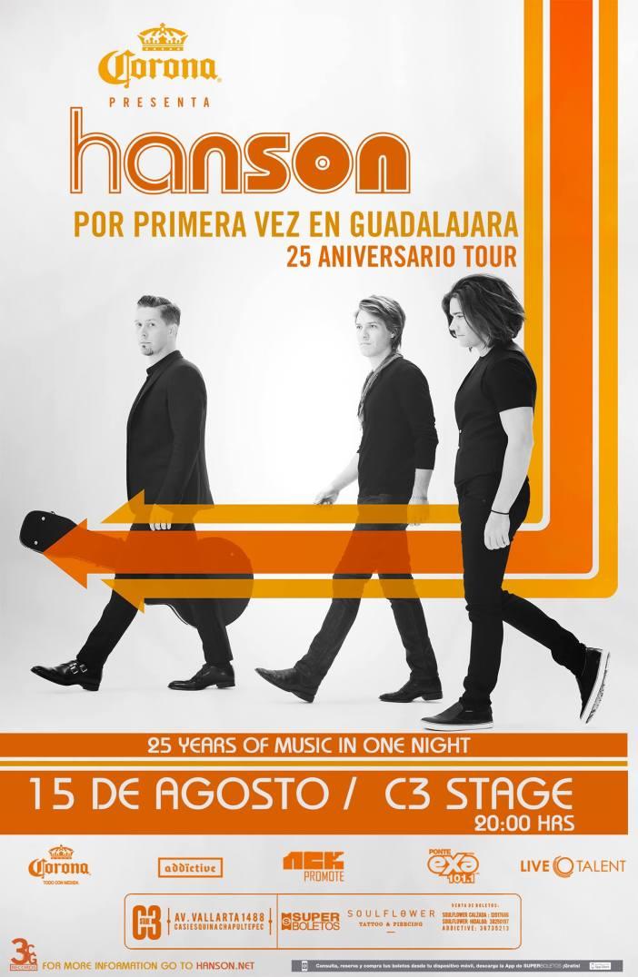 Hanson en Guadalajara 2017