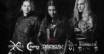 Sisters of Rock: Nervosa + Bandas Invitadas