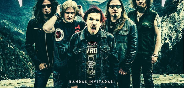 Sonata Arctica en Guadalajara 2017