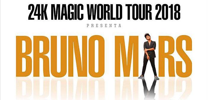Bruno Mars en Guadalajara 2018