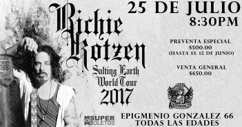 Richie Kotzen en Guadalajara 2017
