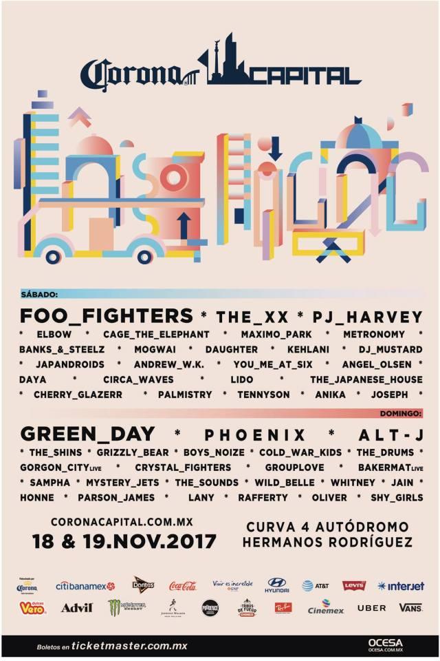 Festival Corona Capital 2017 CDMX