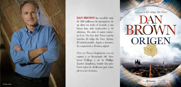 ORIGEN de DAN BROWN llega a las librerías de México y América Latina