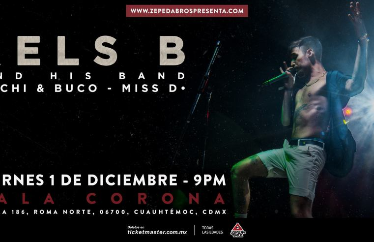 Rels B – And His Band – CDMX 2017