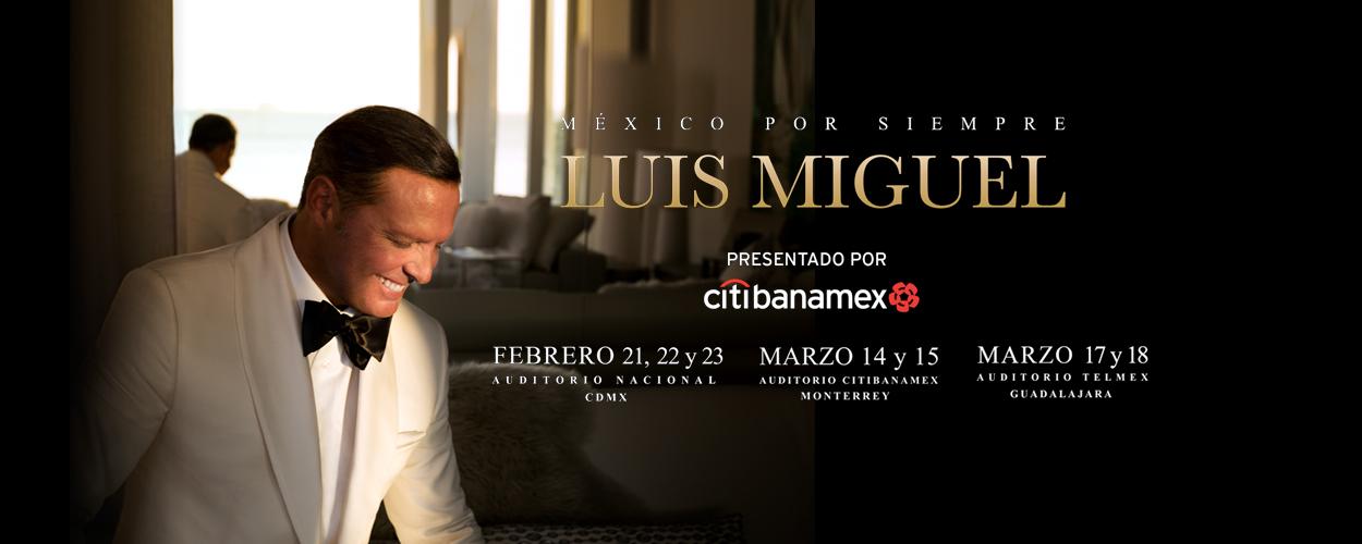 Luis Miguel Ciudad de México 2018