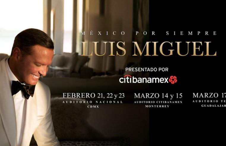 Luis Miguel Monterrey 2018