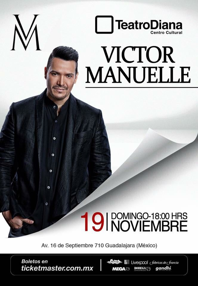 Victor Manuelle Guadalajara 2017