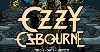 Ozzy Osbourne último show en México