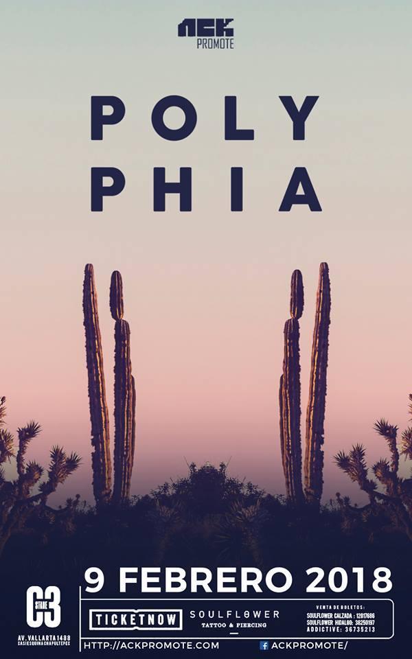Polyphia en Guadalajara 2018