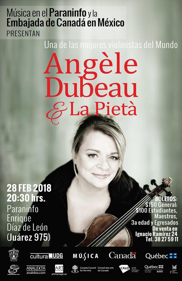 Angèle Dubeau & La Pietà en el Paraninfo 2018