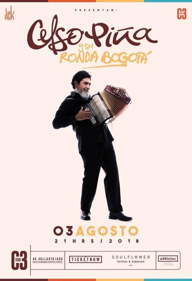 Celso Piña en C3 Stage 2018