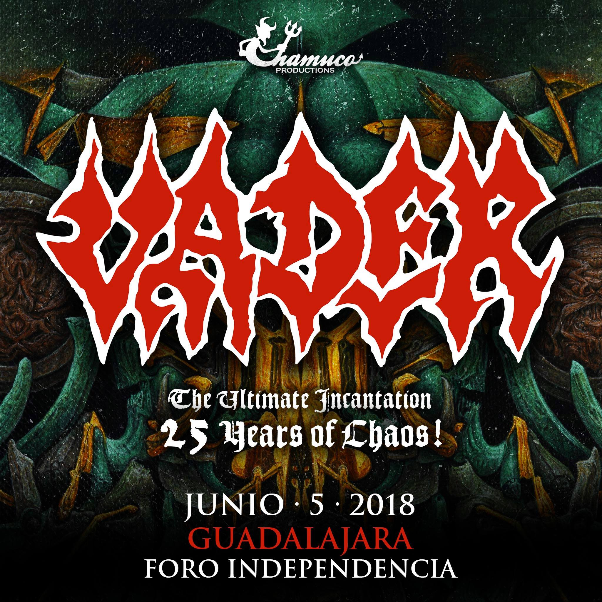 Vader en Guadalajara (Foro Independencia) 2018