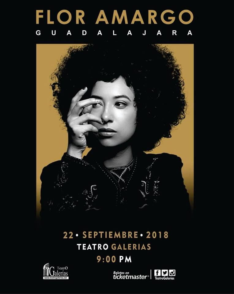 FLOR AMARGO en Teatro Galerias GDL 2018