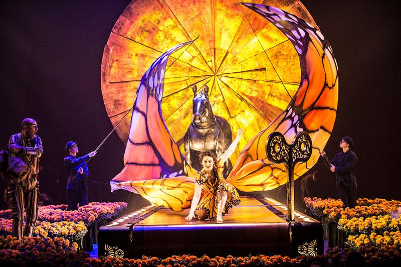 Cirque du Soleil levantará su Gran Carpa Blanca y Dorada en la Explanada López Mateos