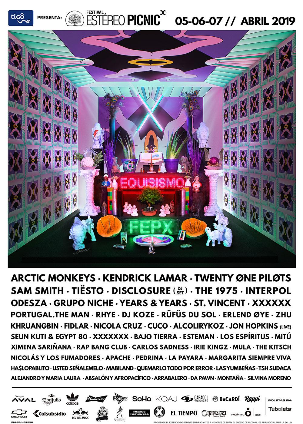 Festival Estéreo Picnic X 2019