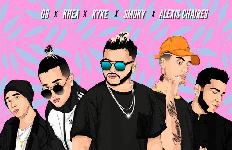 Alexis Chaires, Smoky y GS llegan a poner Loco en el Top de la Playlist
