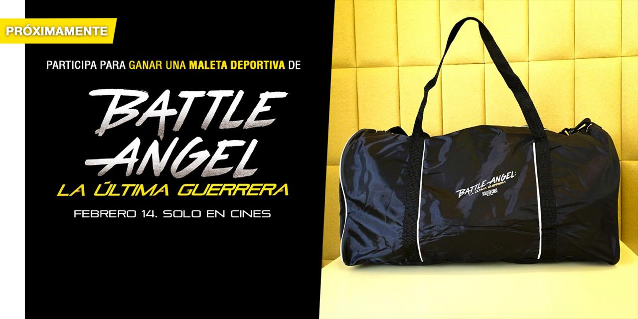 Gana una Maleta Deportiva de Battle Angel La Última Guerra Alita