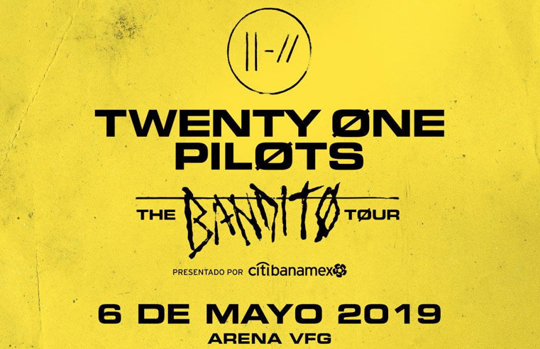 Twenty One Pilots: The Bandito Tour – Guadalajara