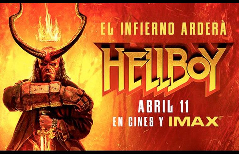 Premiere Hellboy Guadalajara 2019