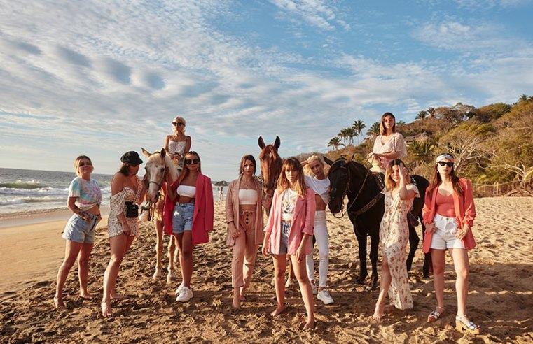 Stradivarius en Riviera Nayarit, el escenario perfecto para una campaña global